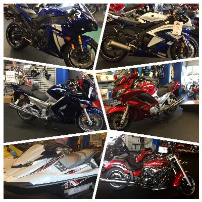 BIkes sold at Cycle Sport Yamaha located in Hobart, Indiana